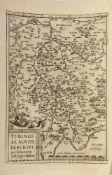 """Landkarte """"Turingiae Noviss. Descript. (Thüringen)"""""""