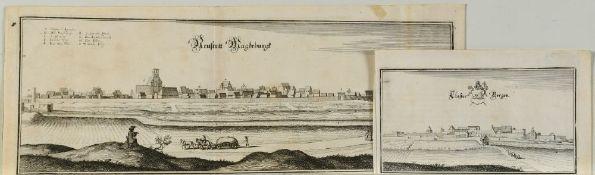 Magdeburg, 2 Ansichten