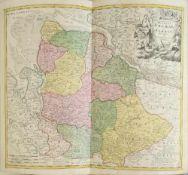 "Landkarte ""Ducatus Bremae et Ferdae (Bremen)"""