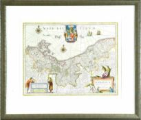"""Landkarte """"Pommern (Pomeraniae)"""""""