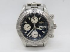 Breitling Super Ocean chronometer - fully working