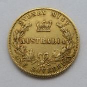 1870 Australian Mint full sovereign