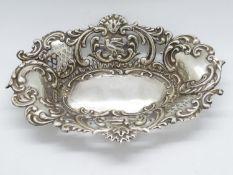 HM silver pin dish 70g