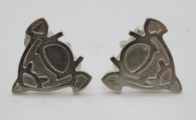 Pair of silver HM cufflinks 15g