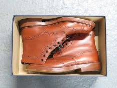 Brand new size 9 men's Trickers brogue boot style STOW with box