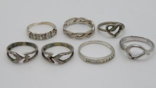 ~Silver HM rings