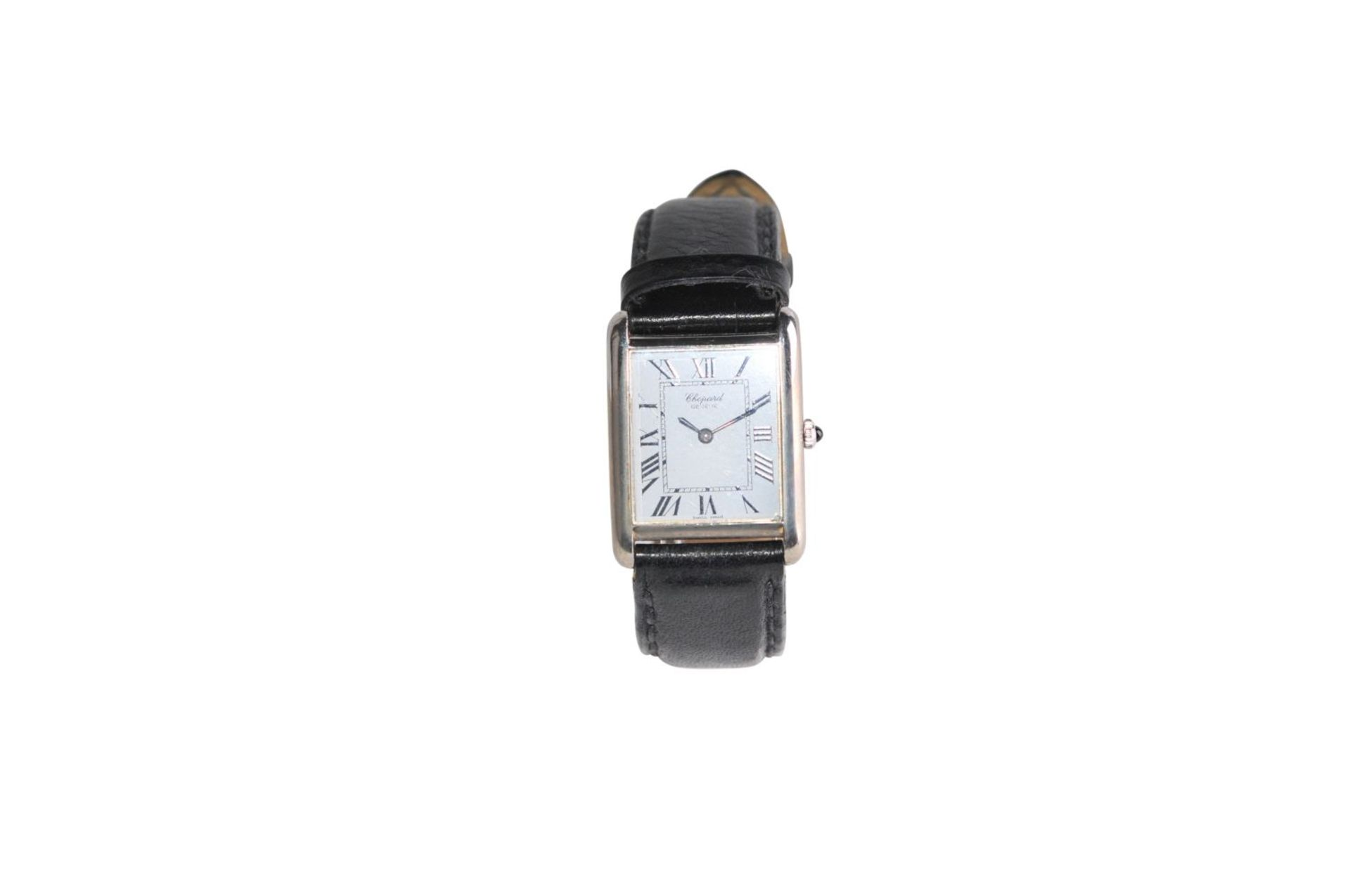 Los 9 - CHOPARD Tank ClassicSteel watch 25 x 30 mm manual winding without box without papersCHOPARD Tank