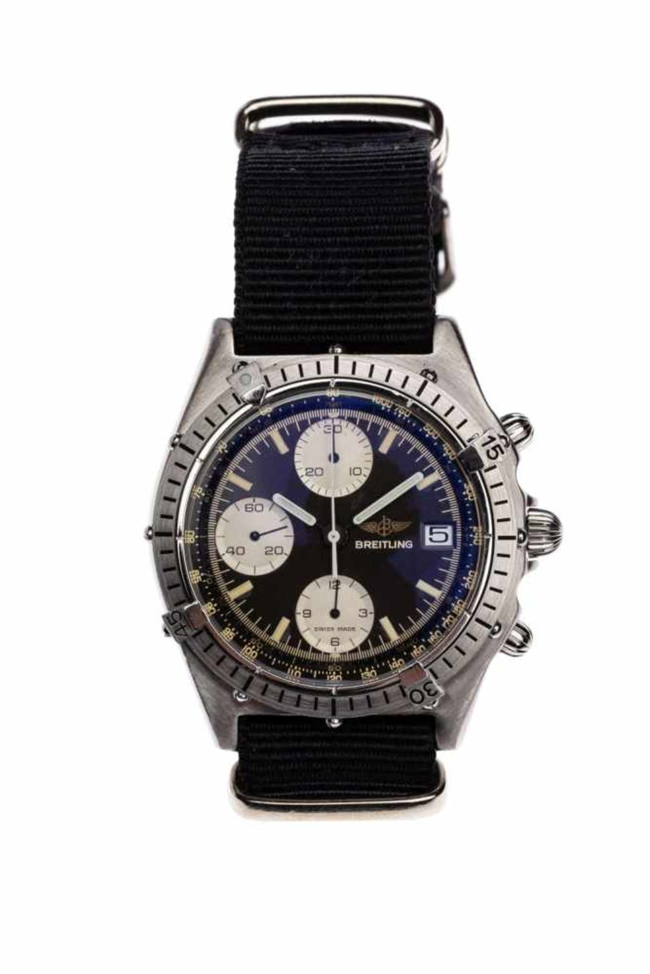 Los 21 - Breitling ChronomatUnisex watch Breitling Chronomat in steel from the 90s, automatic movement with