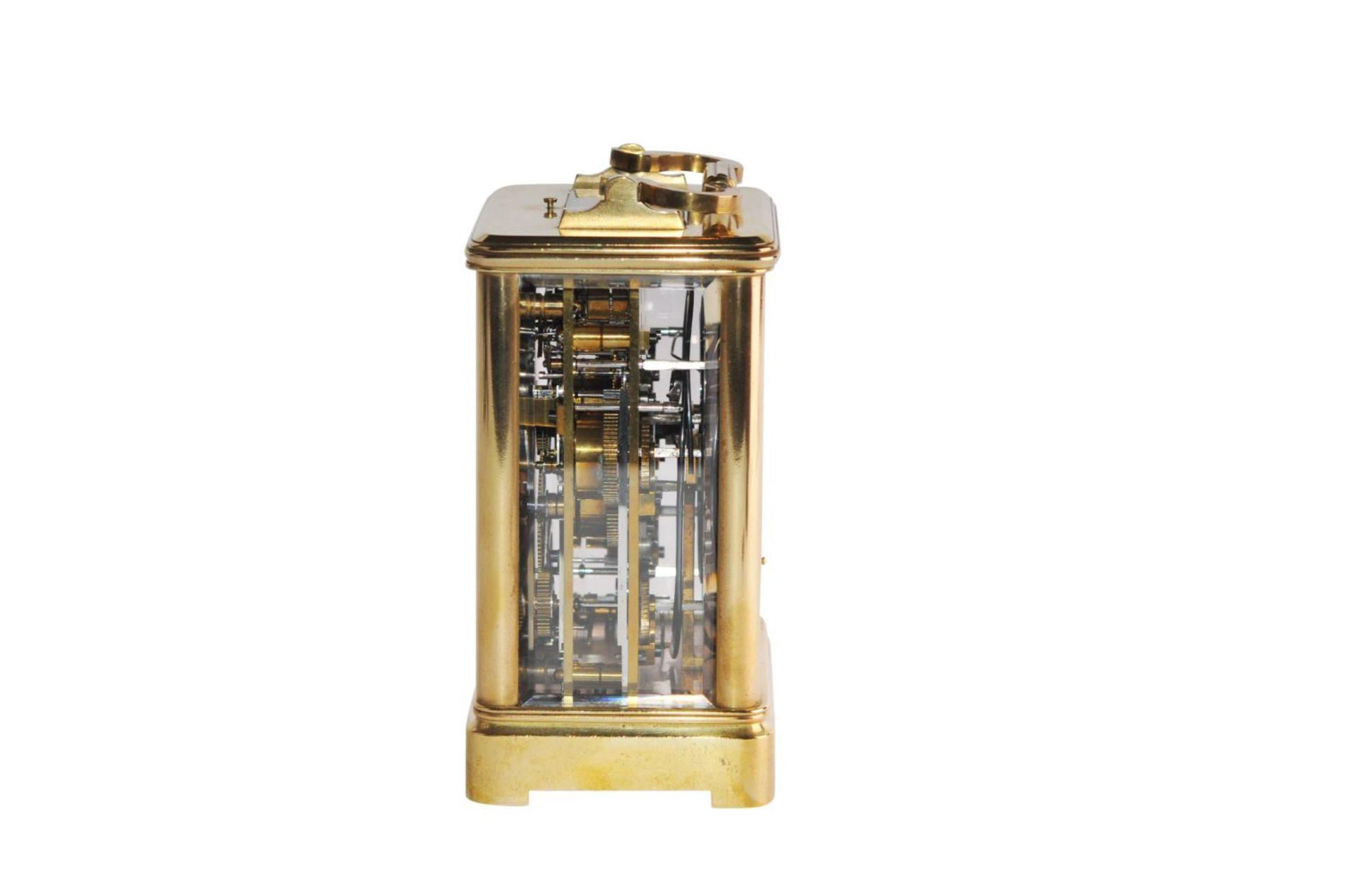 Los 60 - Vienna Travelclock Ignaz Marenzeller & Nachfolger signature 1889 13/9Decorative travel clock with
