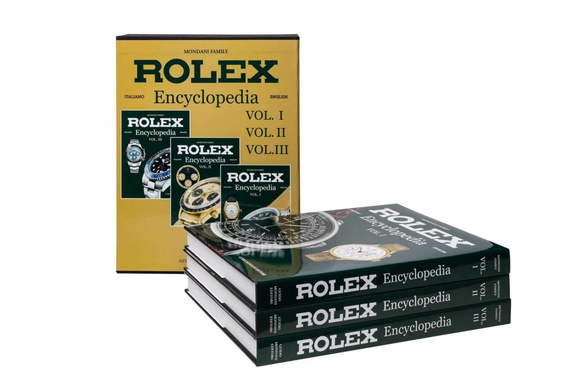 Los 37 - Rolex Book EncyclopediaRolex Encyclopedia represents the most complete work ever realized on