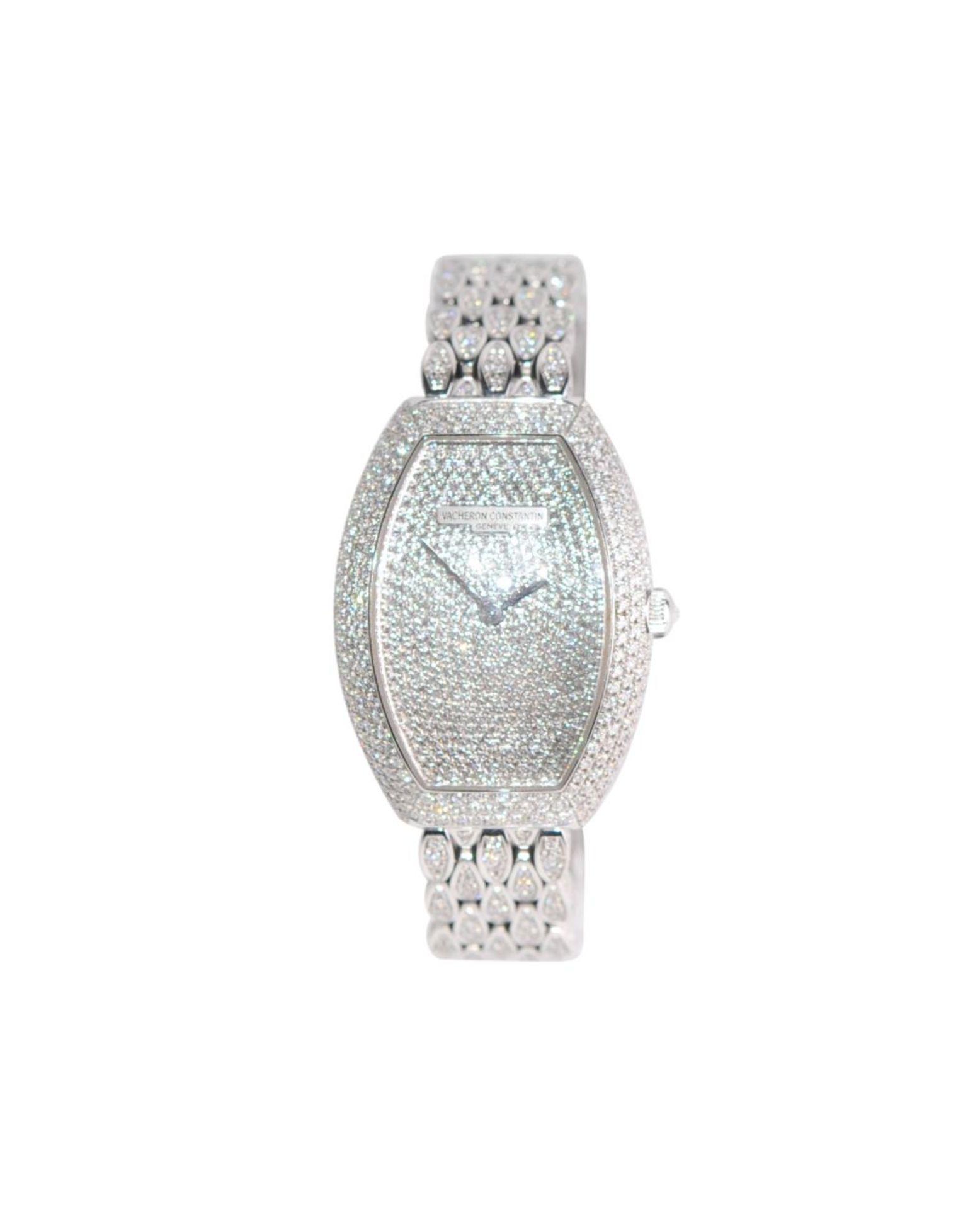 Los 30 - Vacheron Constantin Ladies Timepieces - Egérie full DaimondExclusive brilliant ladies watch Vacheron