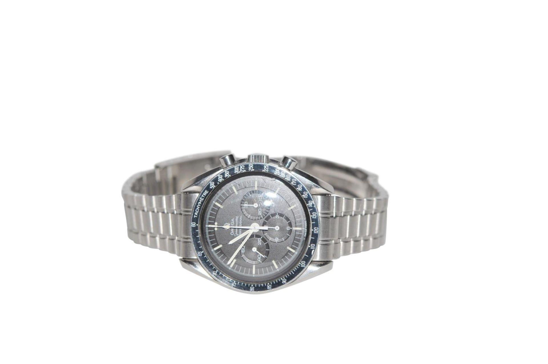 Los 28 - Omega Speedmaster Collector Moon Watch Speedmaster Professional Ref. 145022-69 ca 1980 Tritium