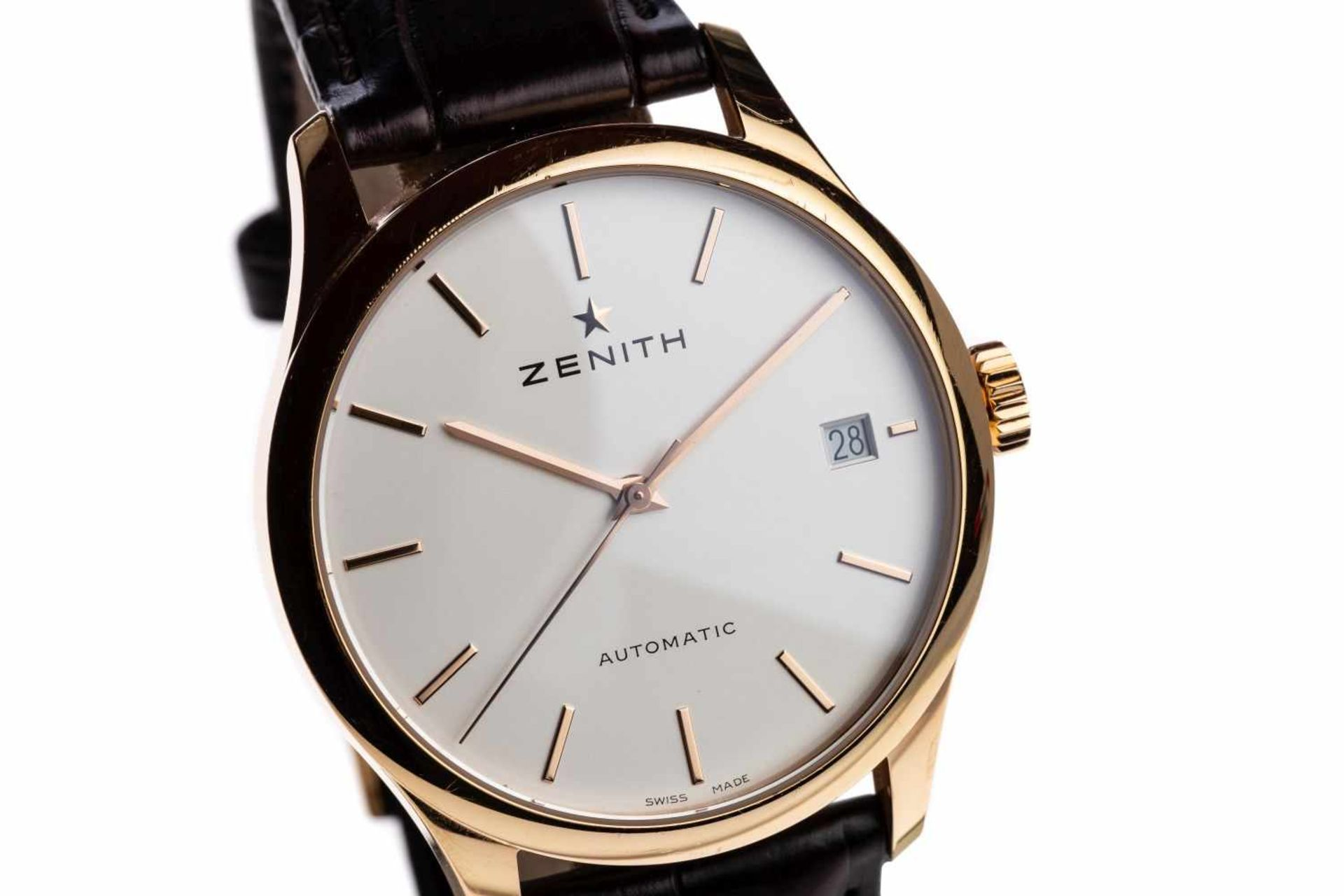 Los 53 - Zenith Port RoyalPreowned Classic Zenith Heritage Port Royal watch, diameter 38mm, box incl.