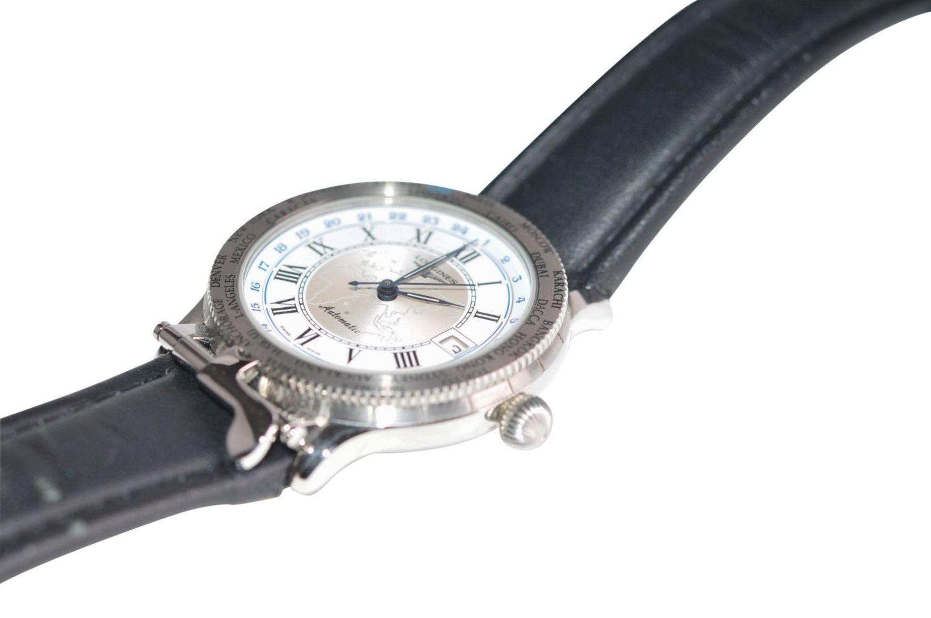 Los 45 - Longines LindberghModel: Carrera Caliber 16 Chronograph AutomaticLongines LindberghBox original &