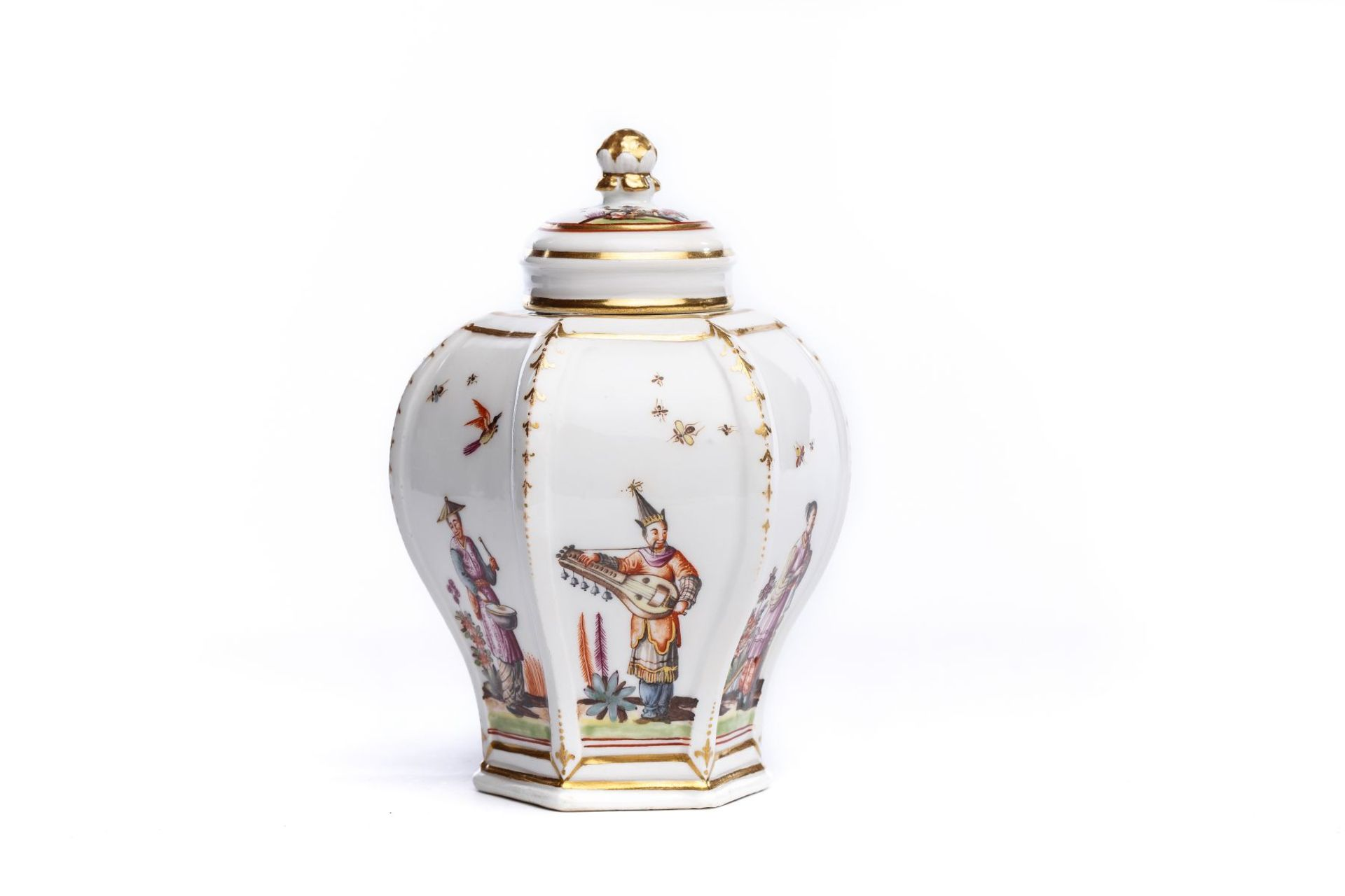 Teedose, Meissen 1735/40