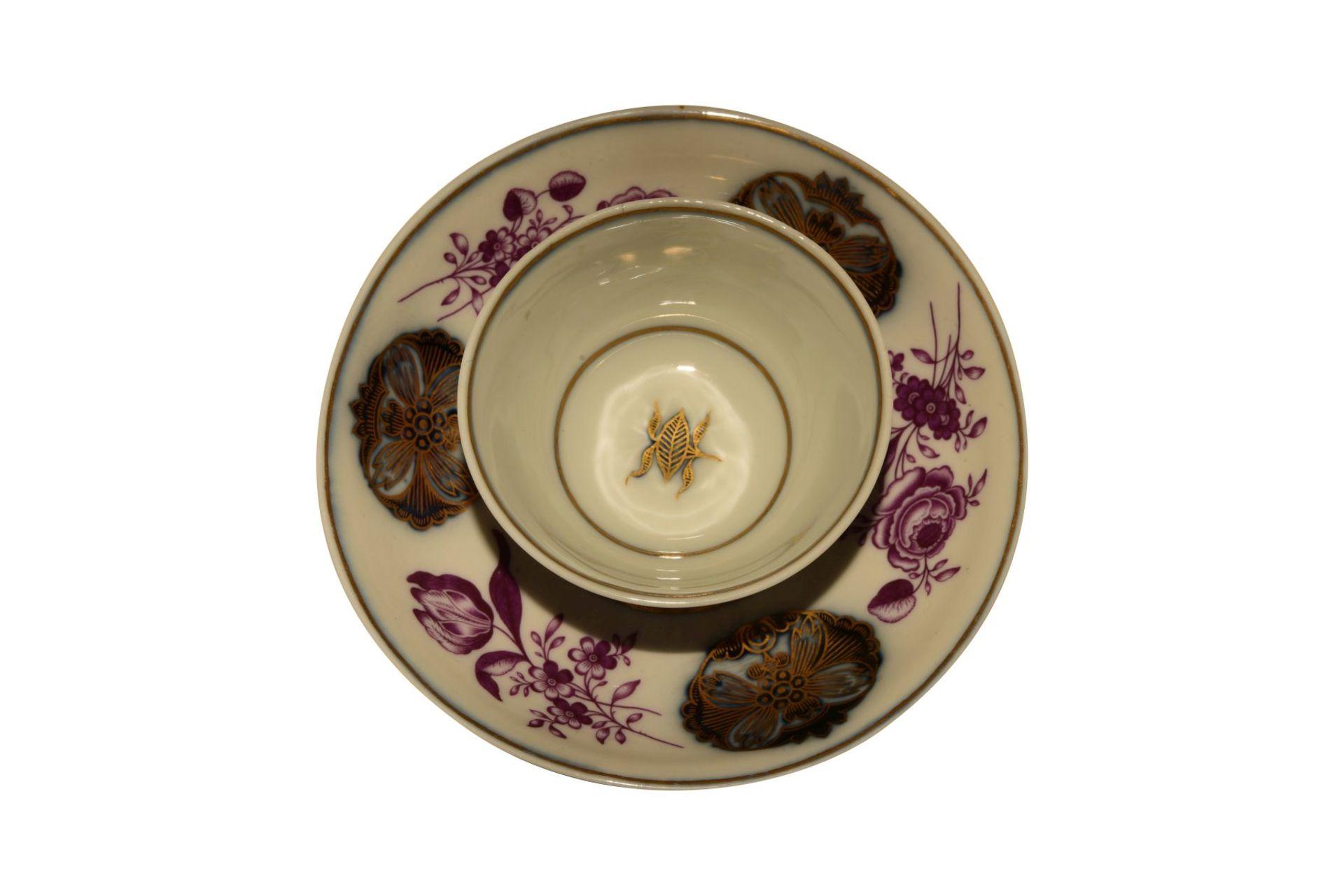 Koppchen mit Unterschale Meissen 1740 - Bild 2 aus 4