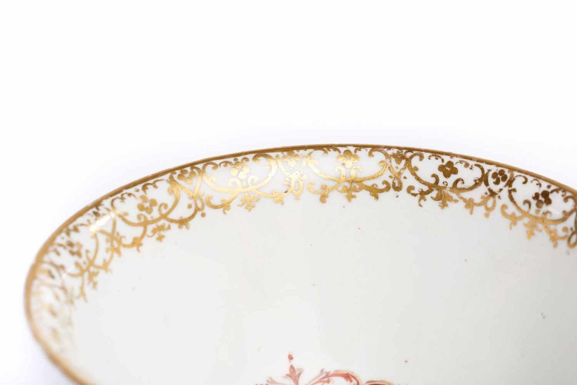 Kumme Meissen um 1720/30 - Bild 4 aus 5