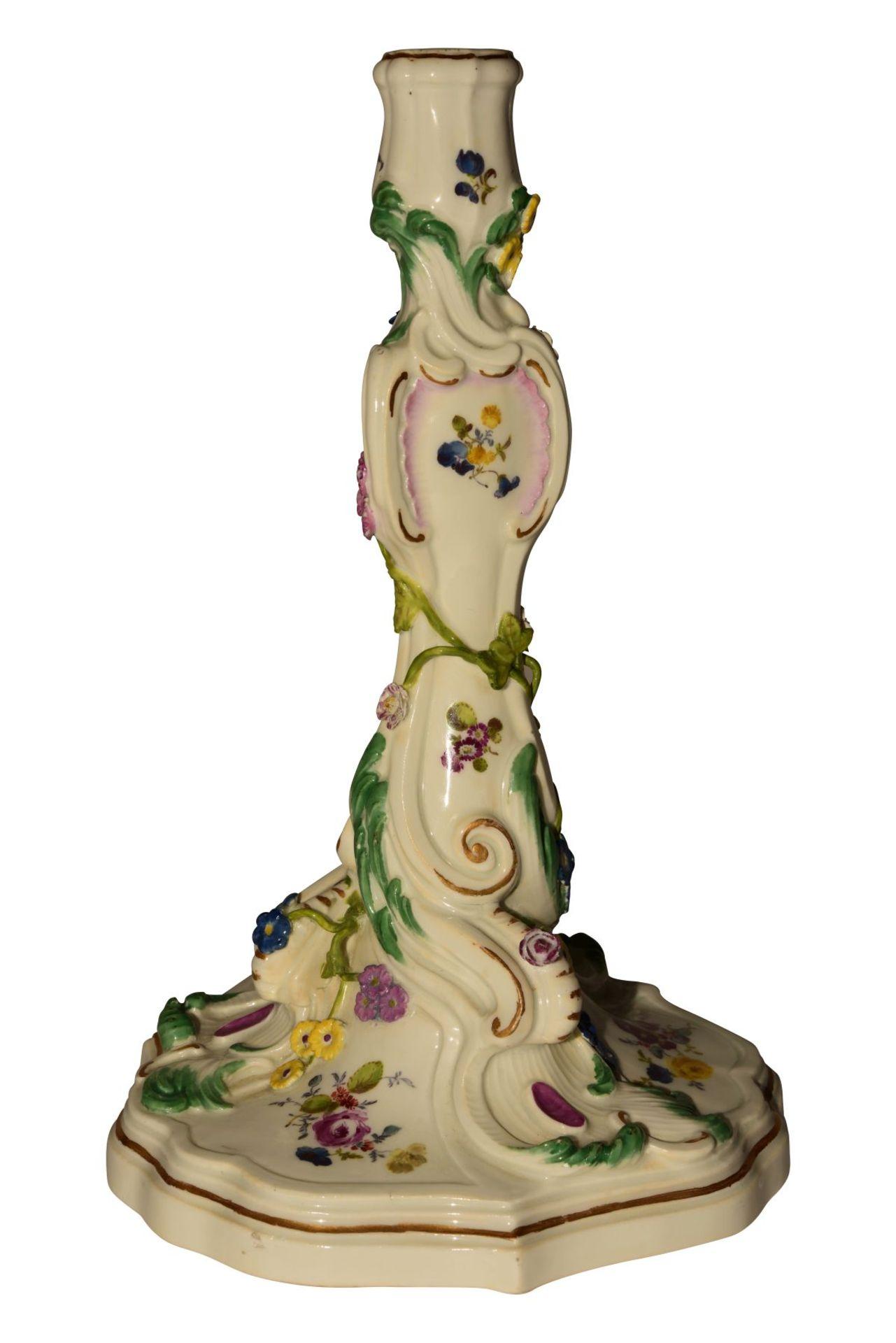 Kerzenstock Meissen 1765 - Bild 3 aus 6