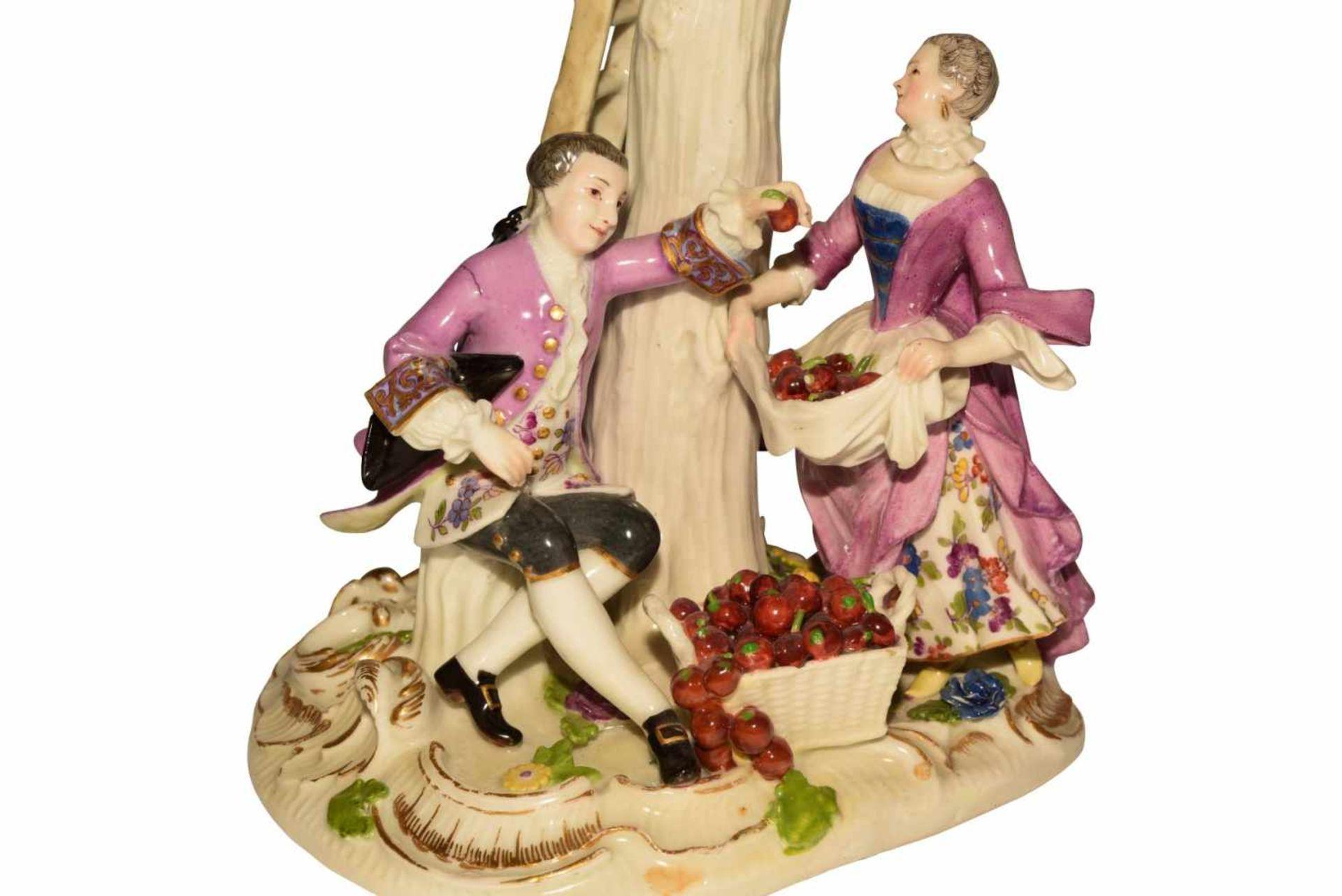 1 Gruppe Apfelpflücker Meissen 1750 - Bild 6 aus 8
