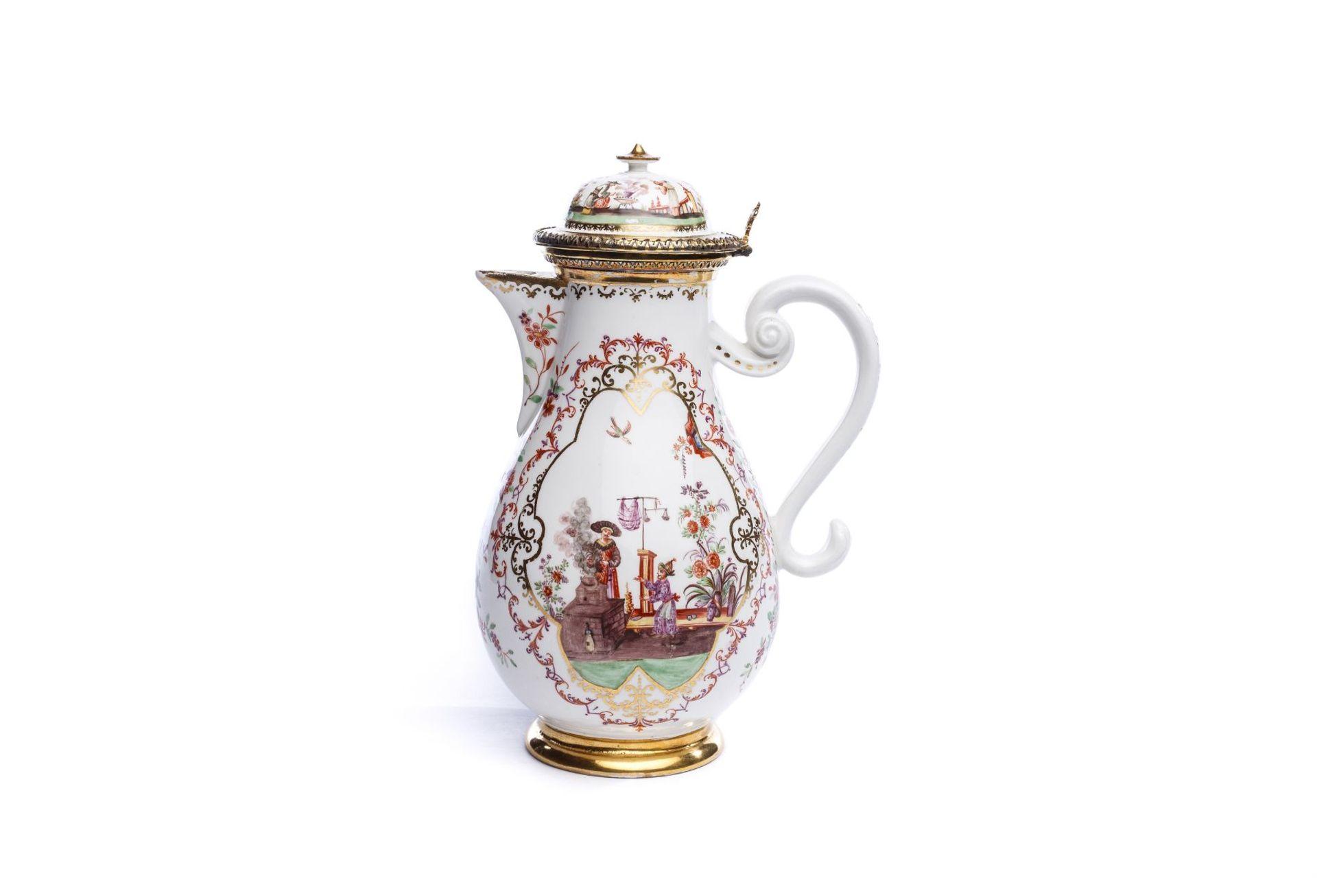 Kanne, Meissen 1724