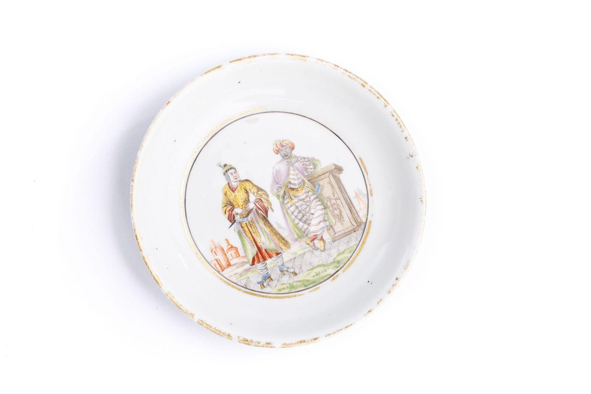 Kleine Unterschale, Meissen 1720/25