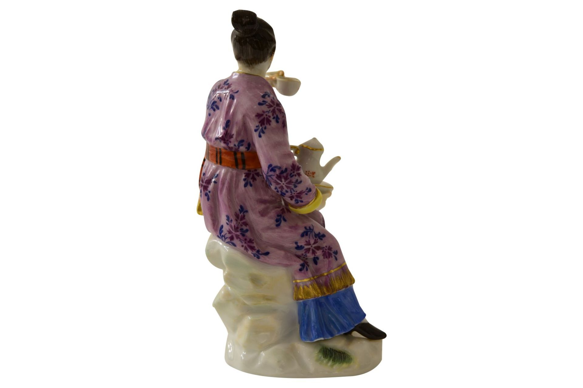 """Kleine Figur """"Japanerin"""" Meissen - Bild 4 aus 7"""