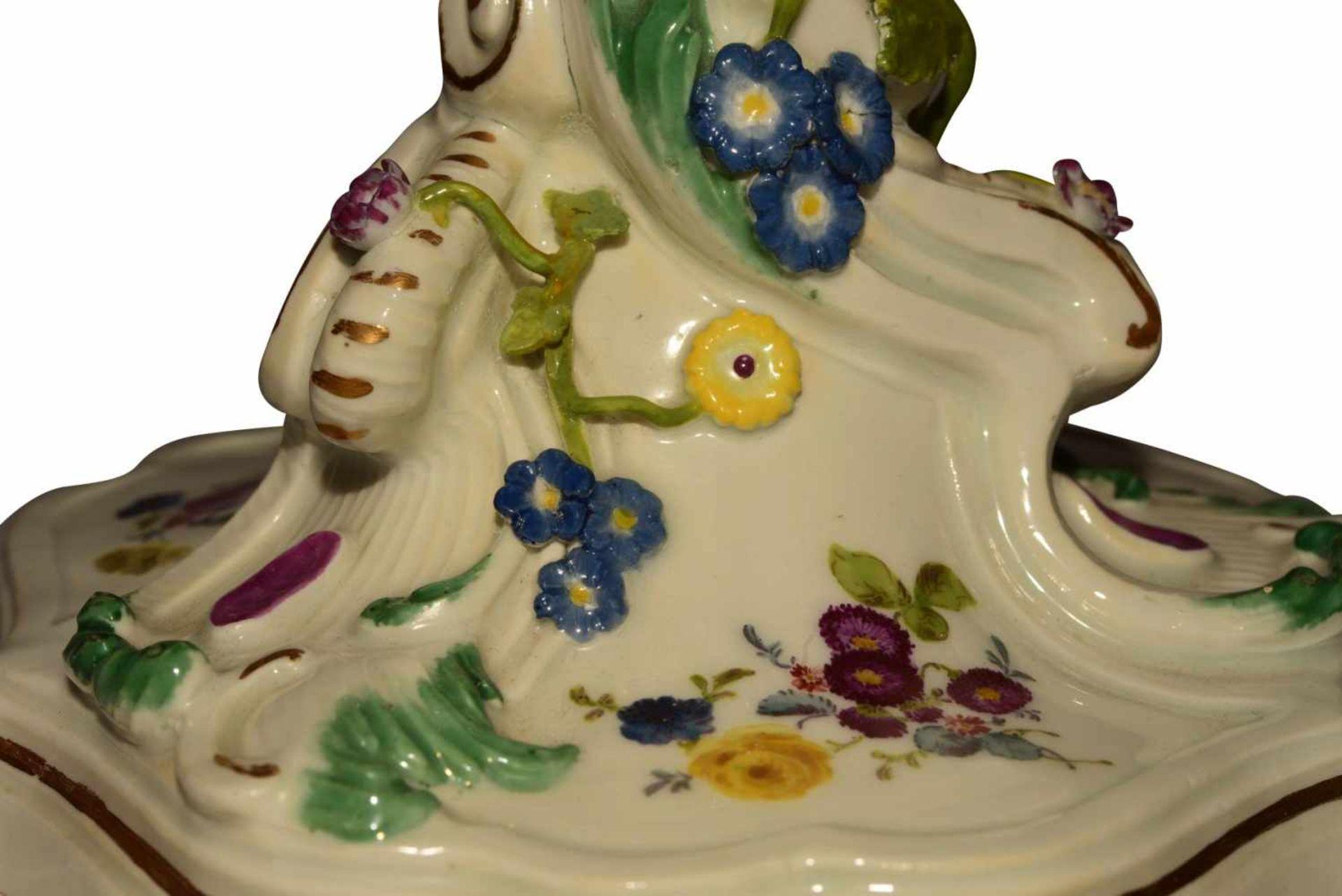 Kerzenstock Meissen 1765 - Bild 5 aus 6