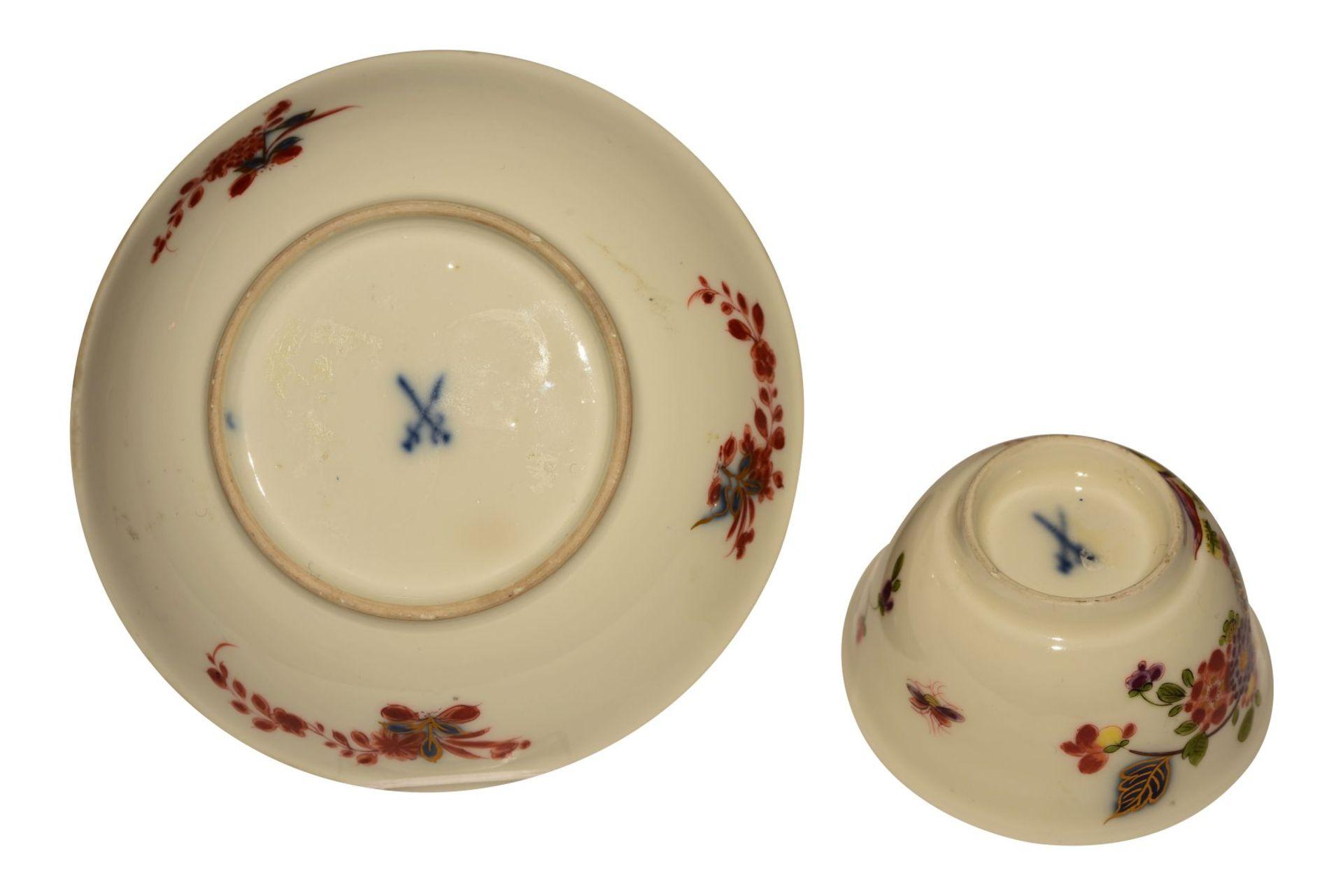 Koppchen mit Untertasse Meissen 1730 - Bild 3 aus 3
