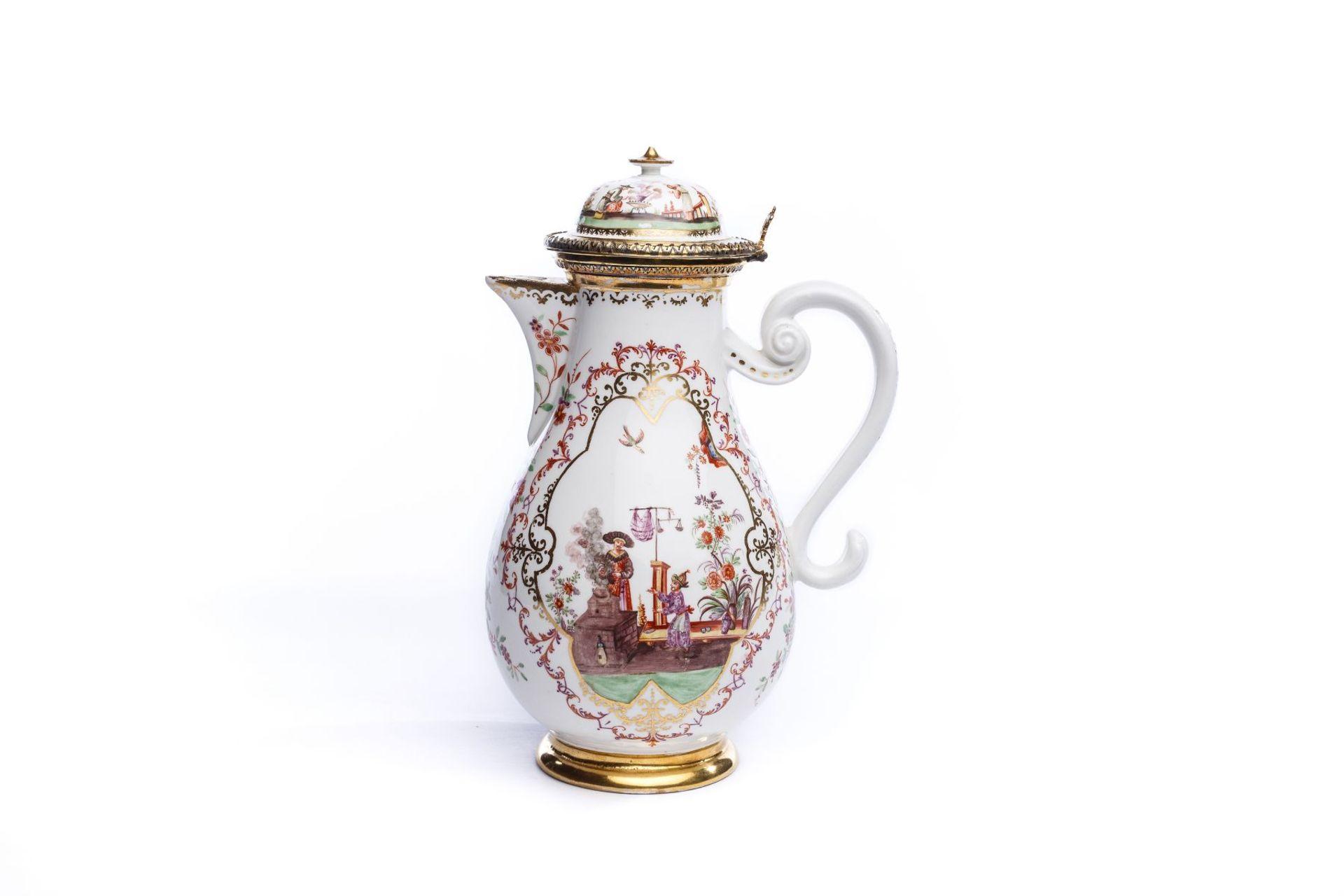 Kanne, Meissen 1724 - Bild 2 aus 7