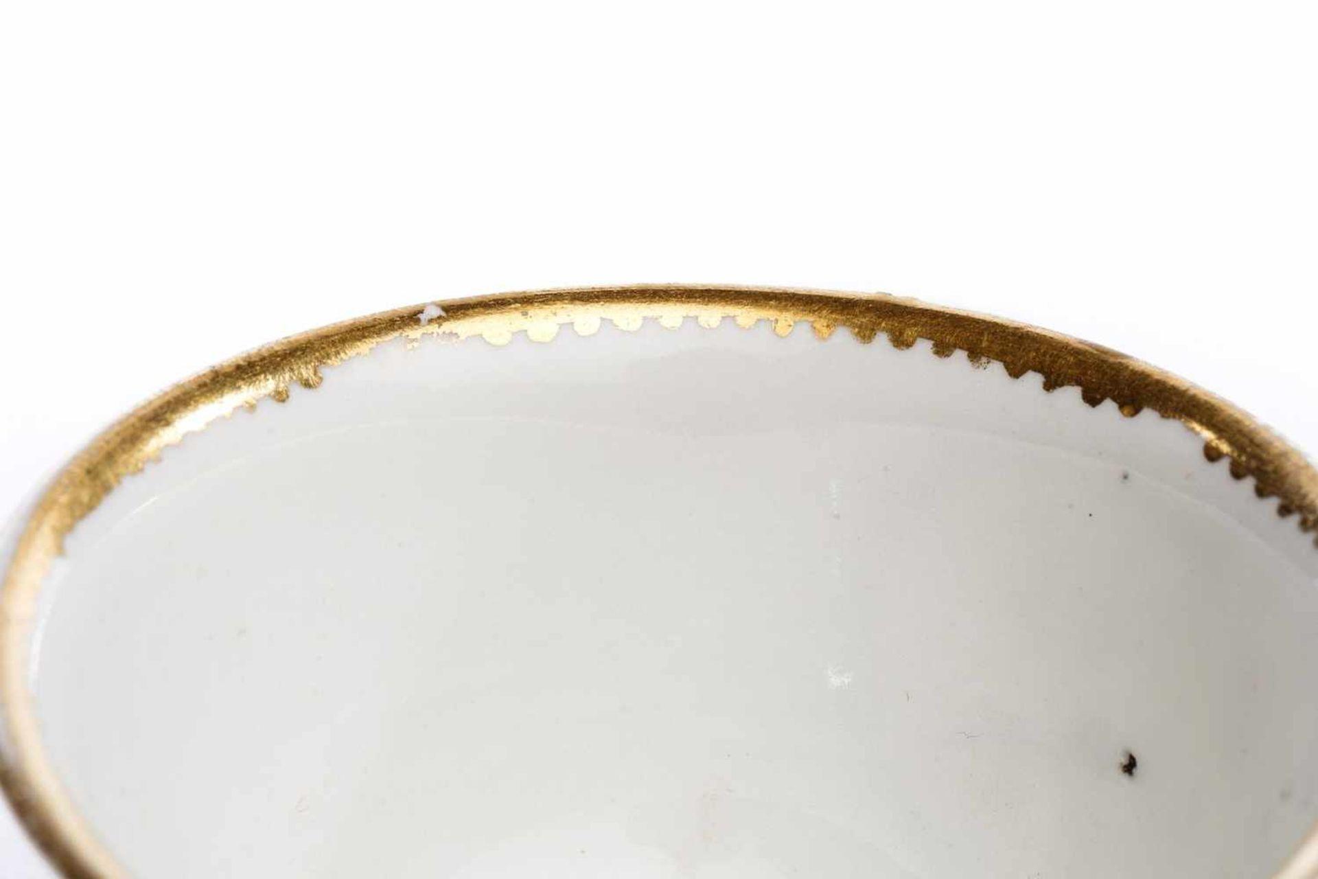 Koppchen ohne Unterschale, Meissen 1720/25 - Bild 3 aus 4