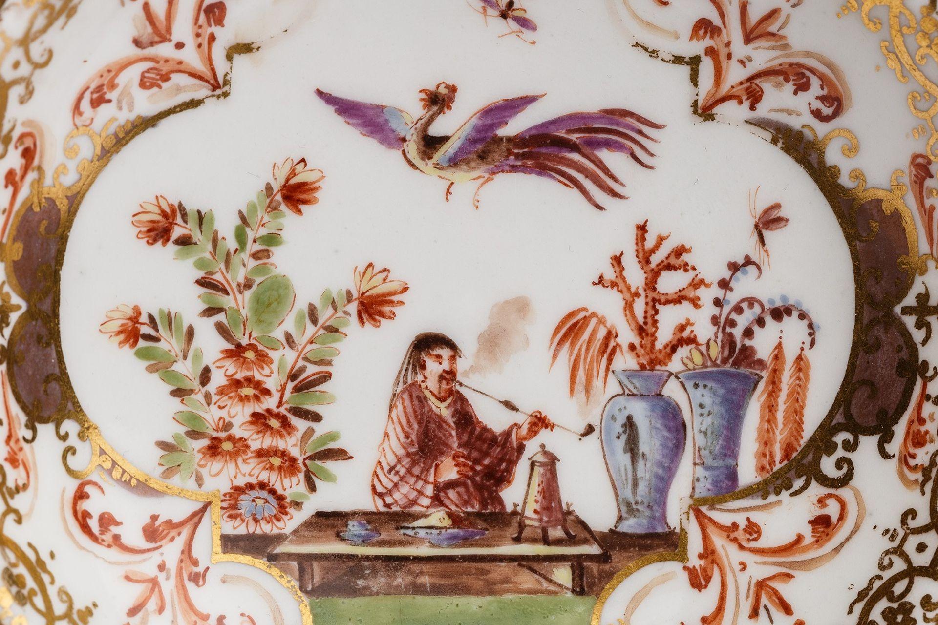 Koppchen mit Unterschale, Meissen 1730/35 - Bild 2 aus 5