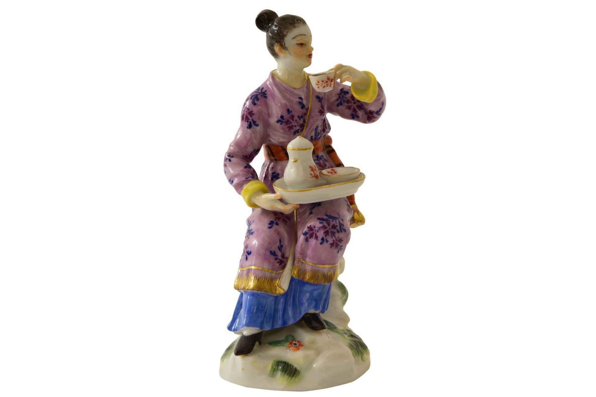 """Kleine Figur """"Japanerin"""" Meissen - Bild 6 aus 7"""