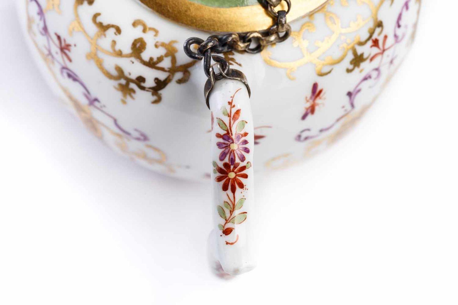 Teekanne, Meissen 1720/25 - Bild 4 aus 4