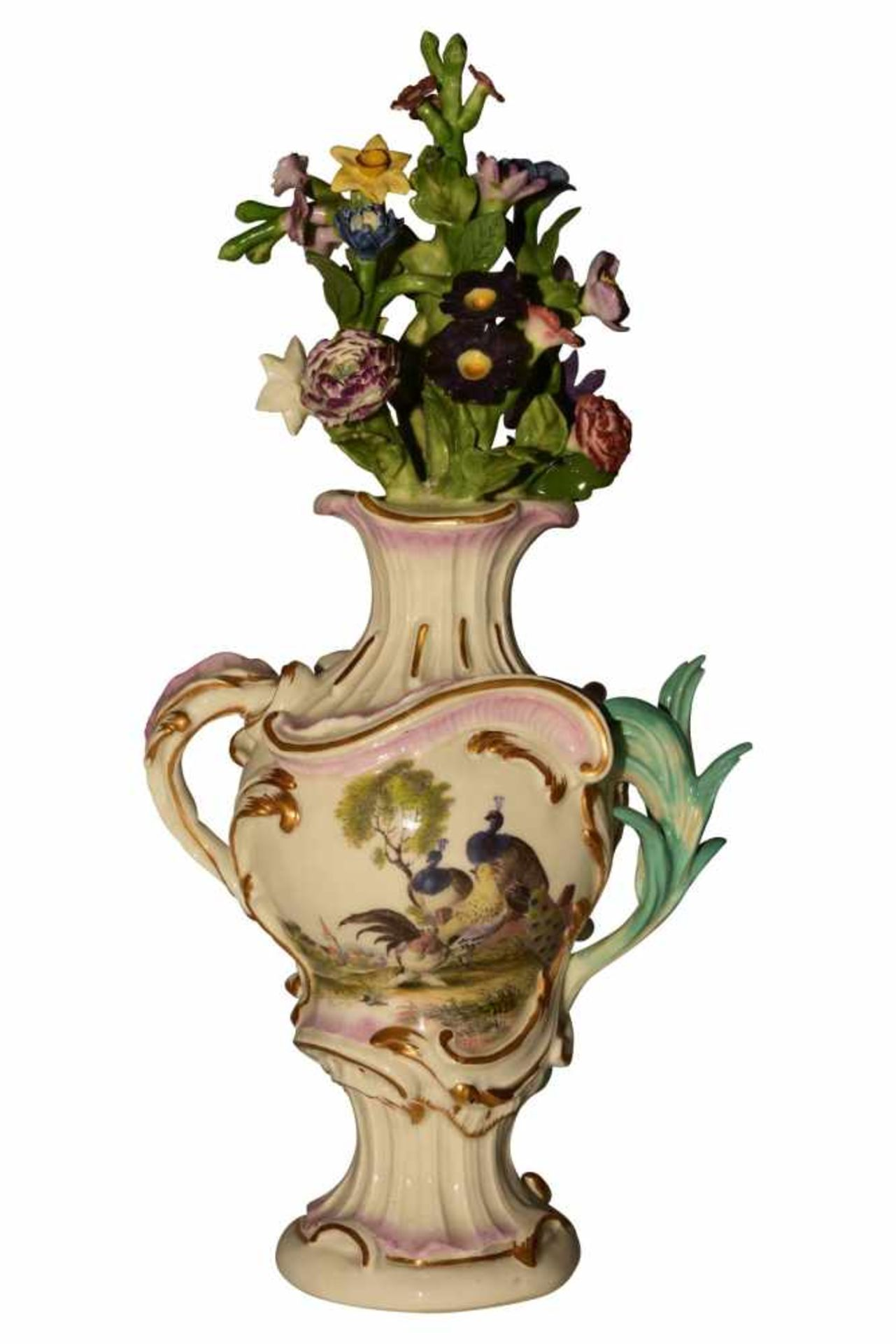 Pot Pouri Vase Meissen um 1750 - Bild 3 aus 6