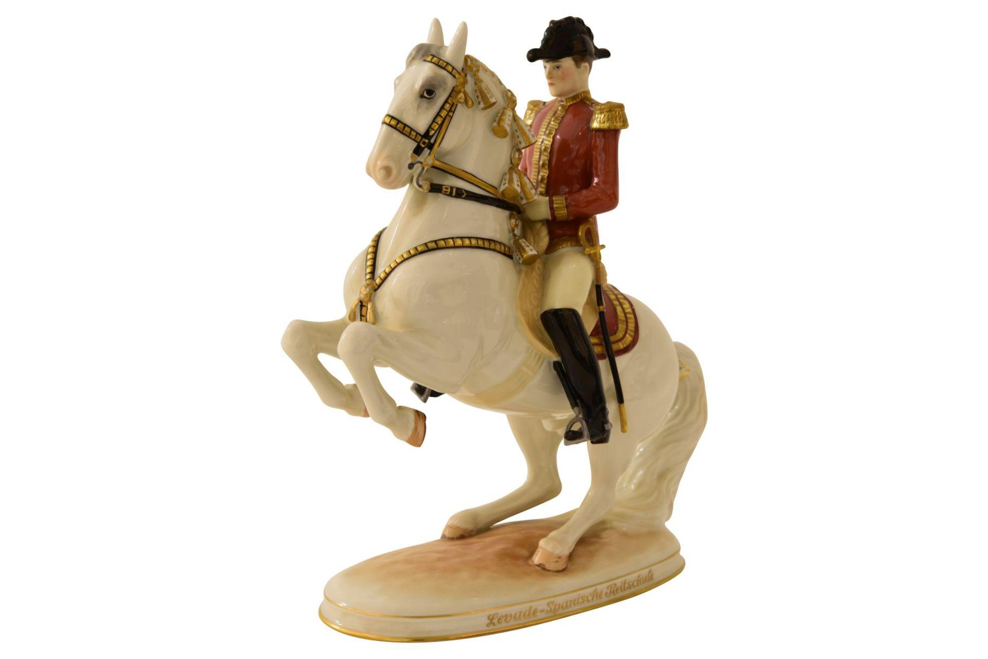 Pferd mit Reiter Augarten - Bild 2 aus 5