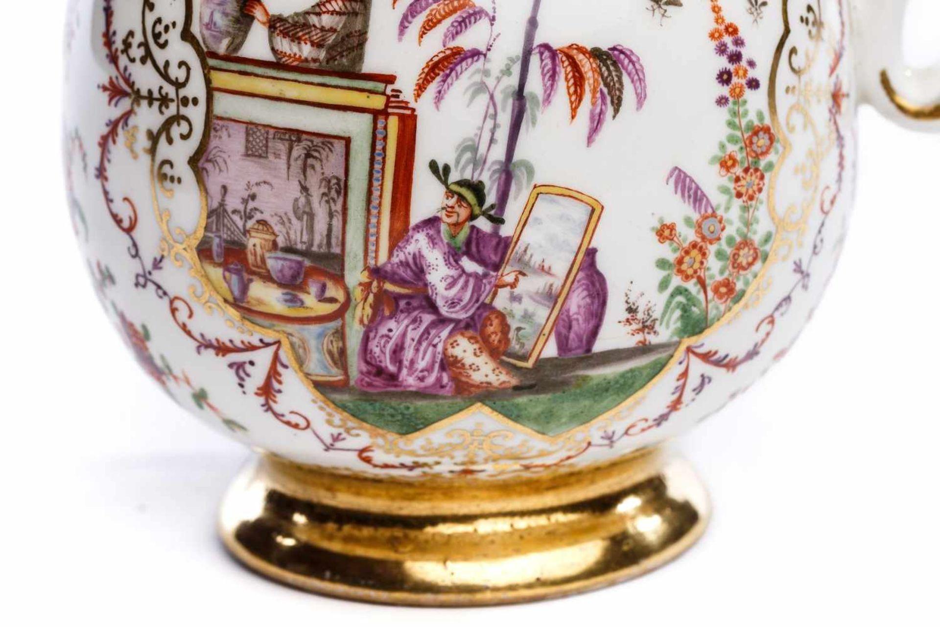 Kaffeekanne, Meissen 1724 - Bild 3 aus 5