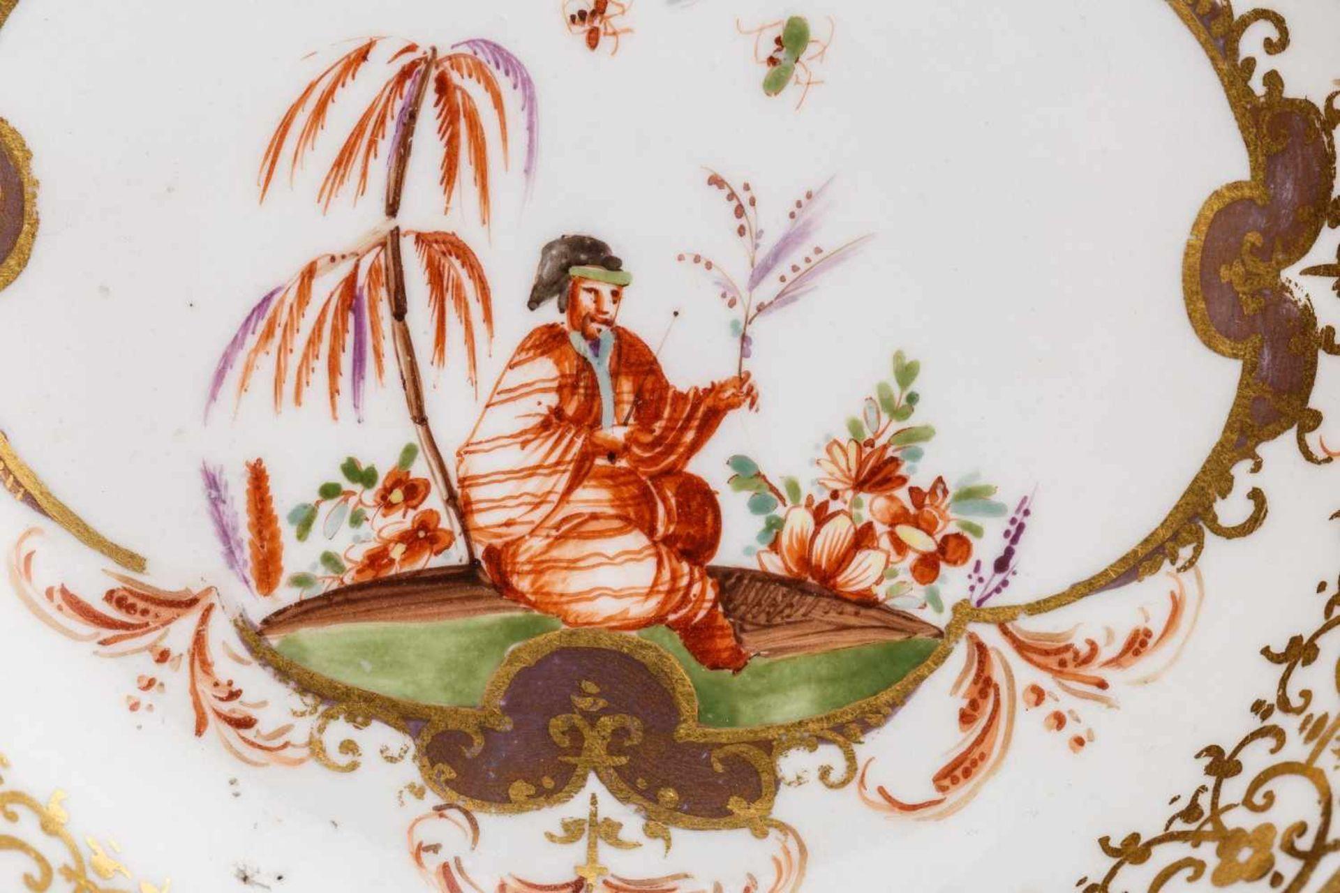 Koppchen mit Unterschale, Meissen 1730/35 - Bild 2 aus 6