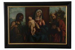 """Giovanni Battista Cima """"Madonna mit Kind, dem Hl. Paulus und Johannes der Täufer"""""""