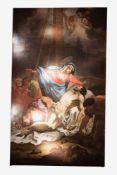 """Österreichischer Barockmaler """"Kreuzabnahme Christi""""Großformatiges Barock Gemälde mit Darstellung aus"""