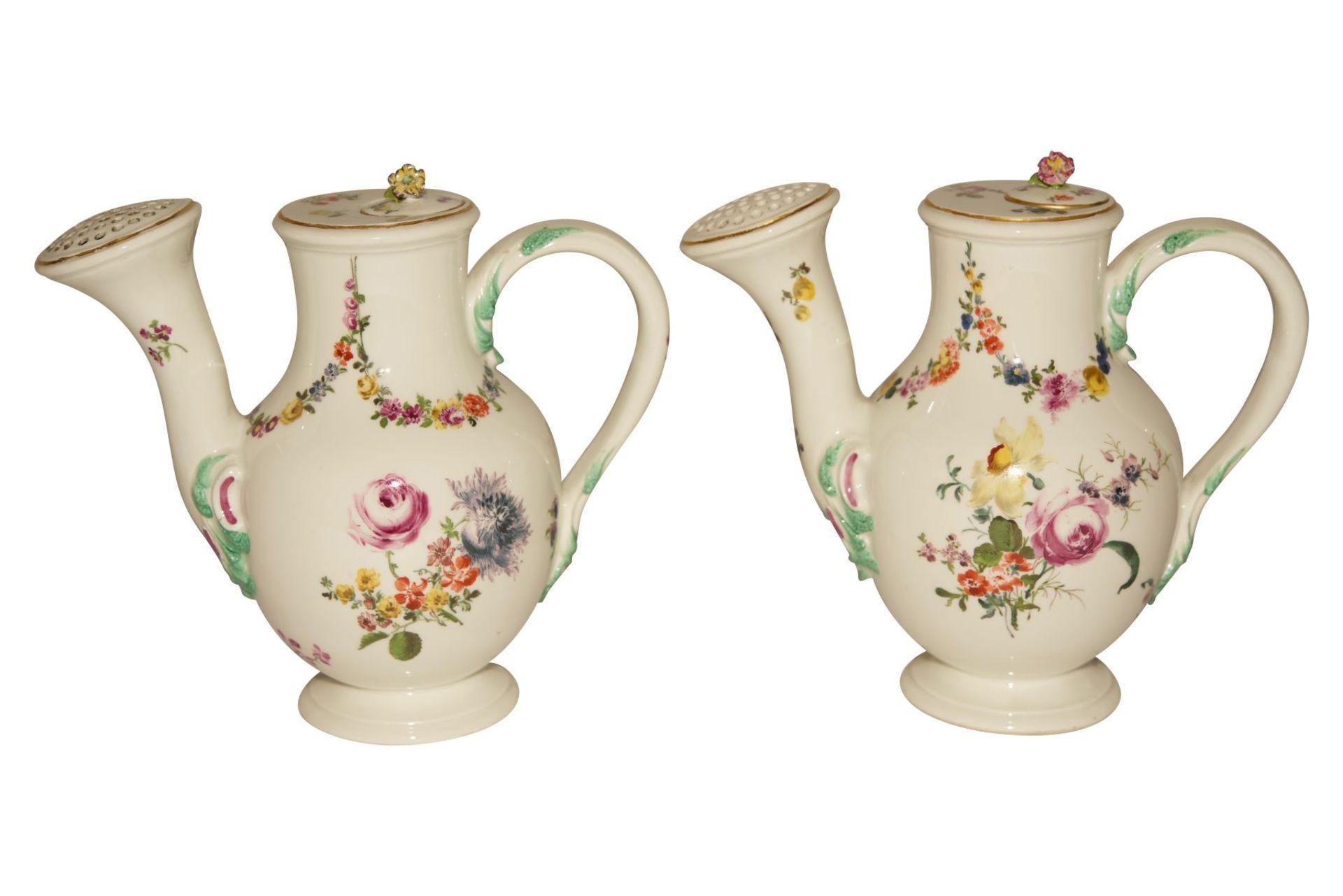Blumenkannen auf Présentoir Meissen 1730 - Bild 2 aus 8