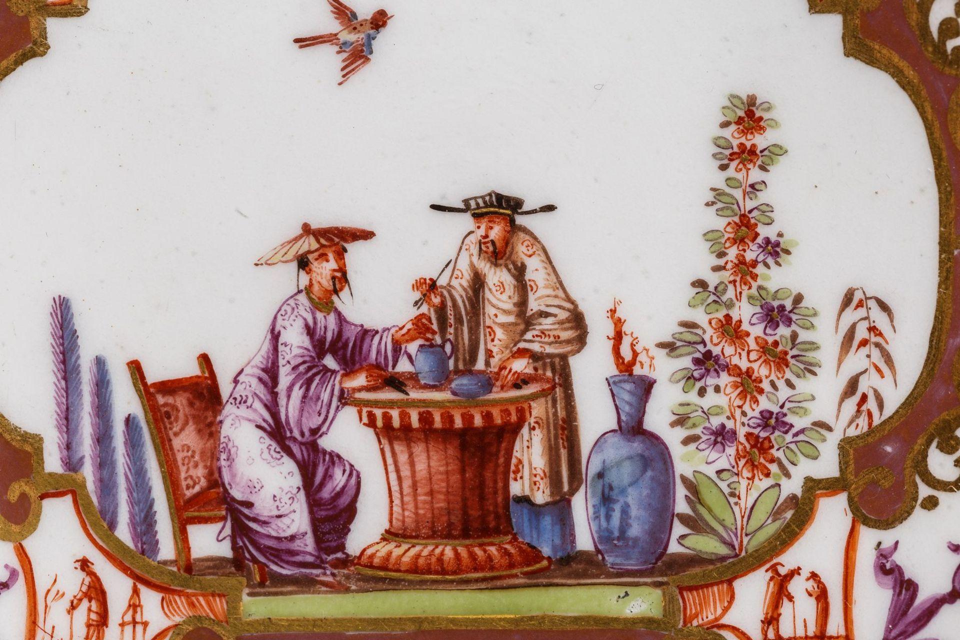 Koppchen mit Unterschale, Meissen 1725 - Bild 2 aus 6