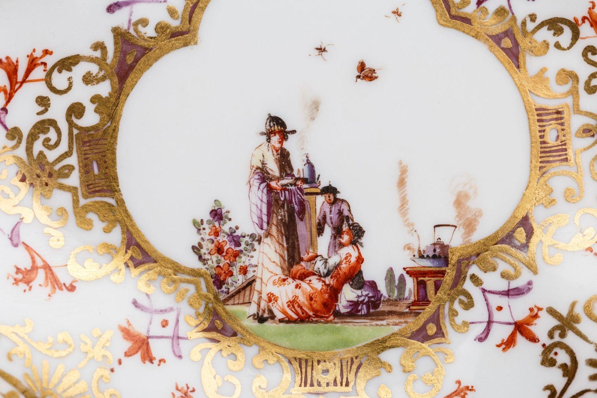 Koppchen mit Unterschale, Meissen 1728/30 - Bild 2 aus 3
