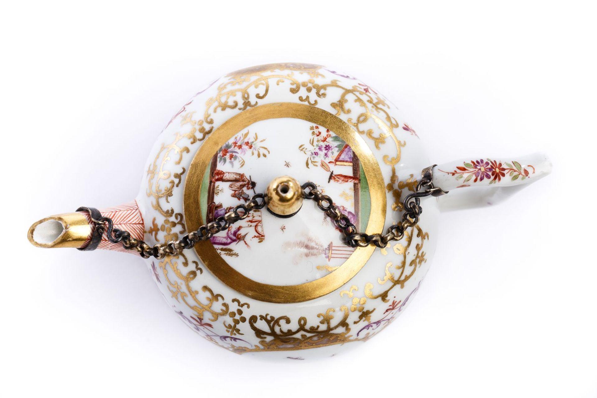 Teekanne, Meissen 1720/25 - Bild 2 aus 4