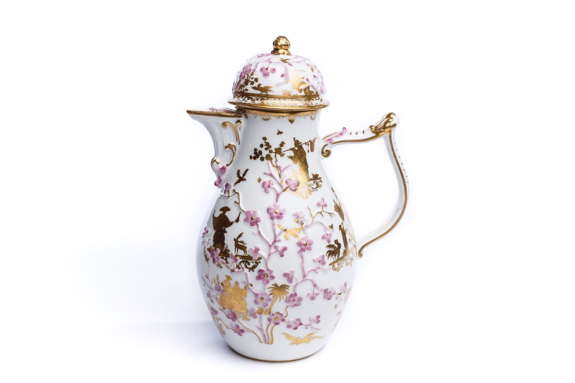 Kaffeekanne, Meissen 1735/40