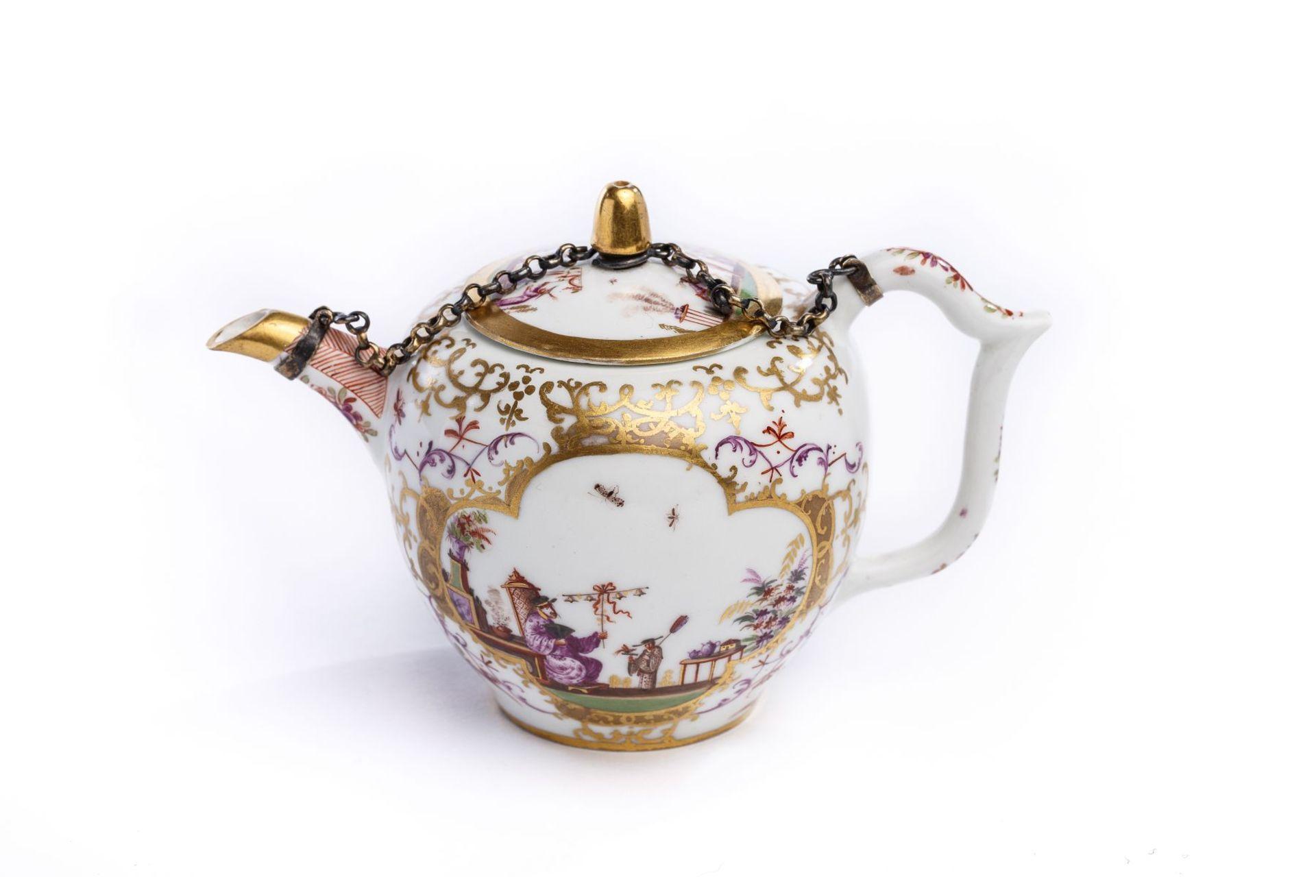 Teekanne, Meissen 1720/25