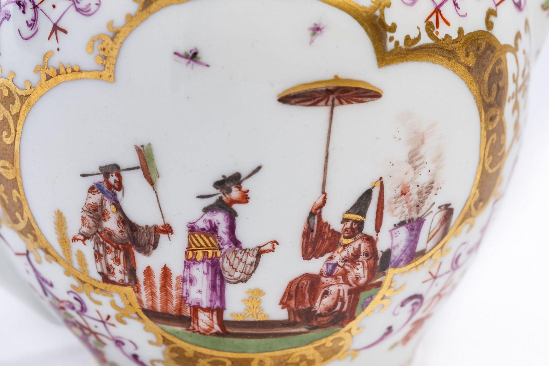 Teekanne, Meissen 1720/25 - Bild 3 aus 4