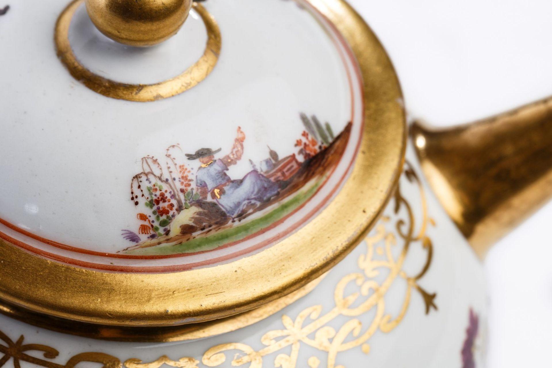 Teekanne, Meissen 1723/24 - Bild 4 aus 4