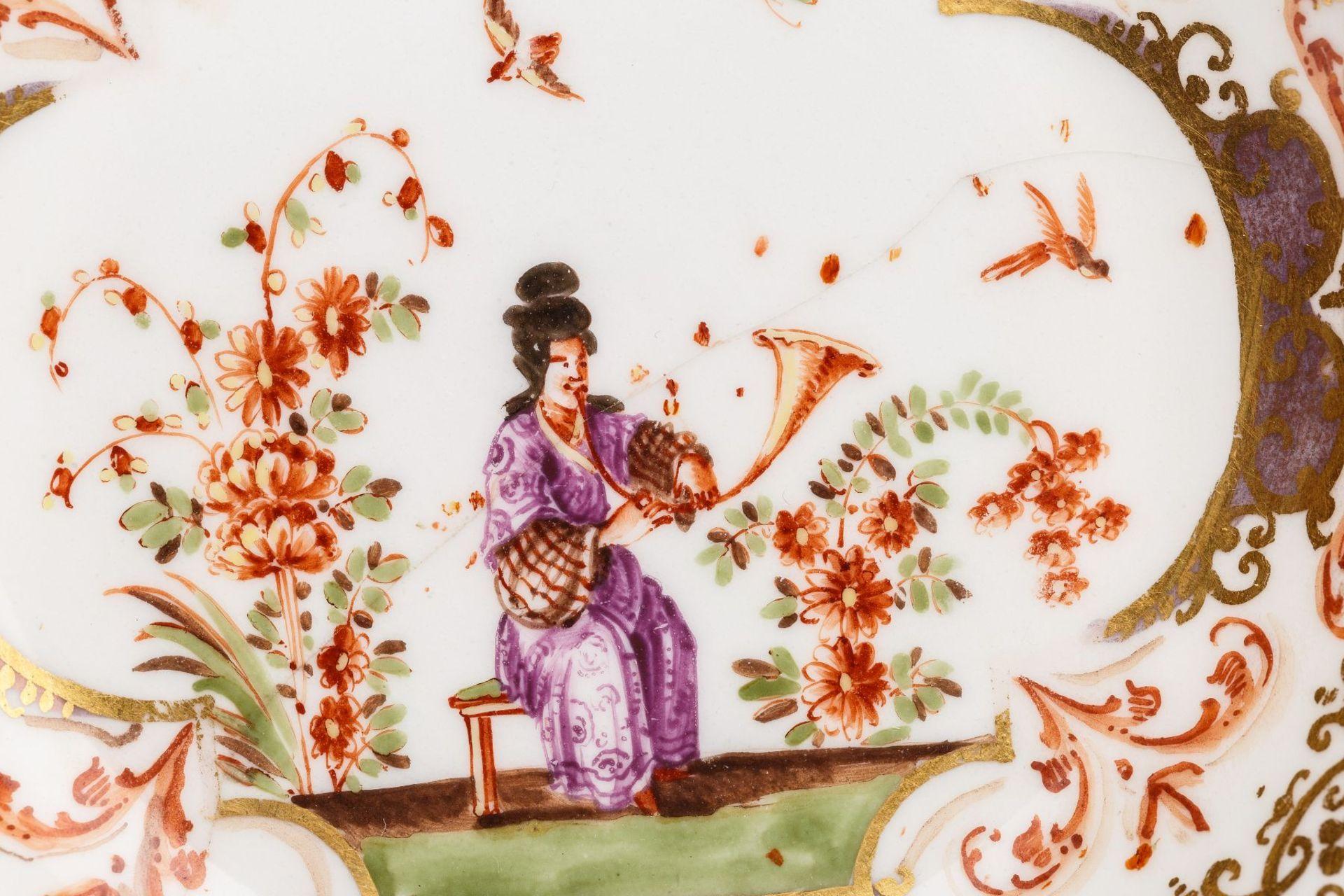 Koppchen mit Unterschale, Meissen 1725 - Bild 2 aus 5
