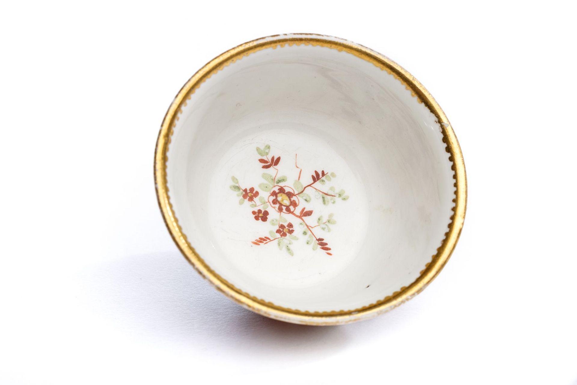 Koppchen ohne Unterschale, Meissen 1720/25, - Bild 4 aus 4