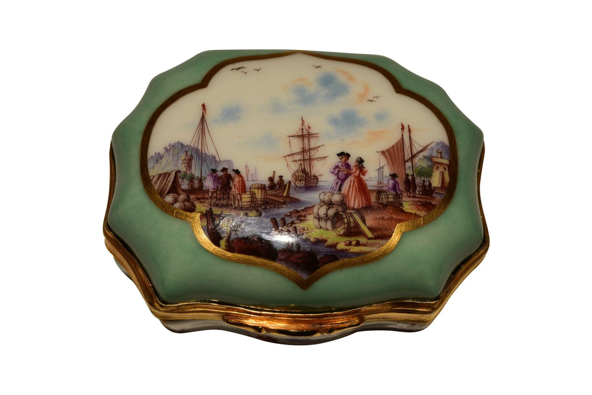 Tabatiere Meissen 1730 - Bild 4 aus 6